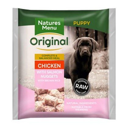 Natures Menu Frozen Nuggets Puppy 1kg