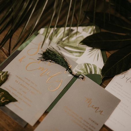 Supplier Spotlight - Wedding Stationery with LouPaper