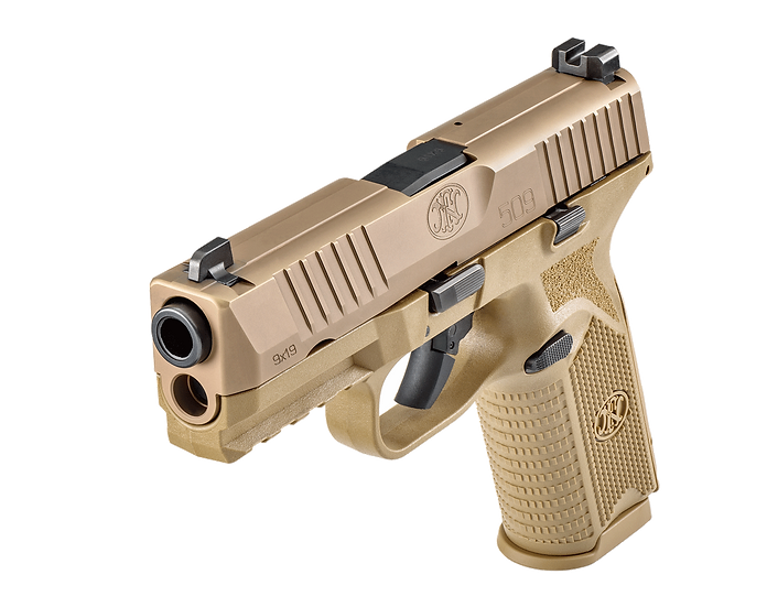 FN 509 RMR / SRO / 507C Optic Cut