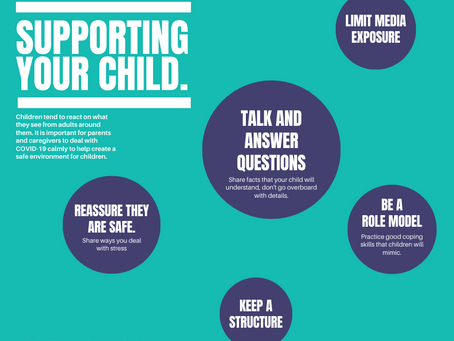 Supporting your child during COVID-19
