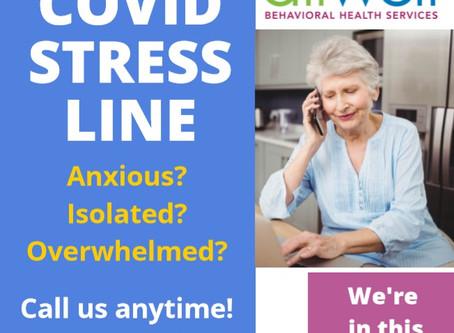 Covid Stress line