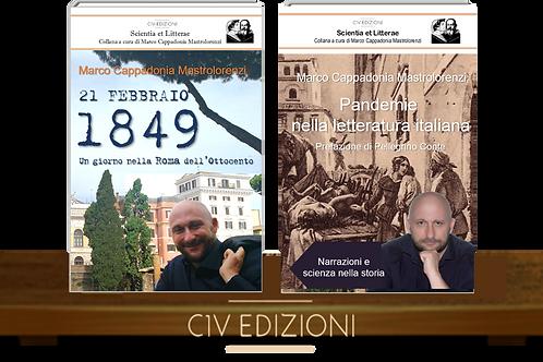 21 febbraio 1849 + Pandemie nella letteratura italiana