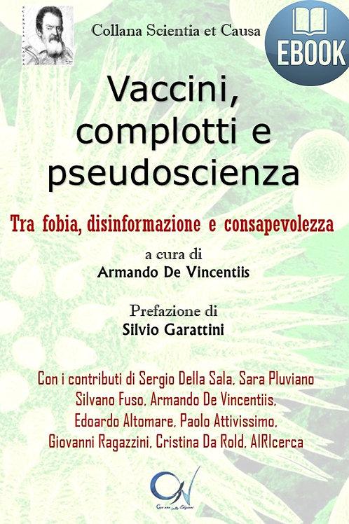 E-book VACCINI, COMPLOTTI E PSEUDOSCIENZA