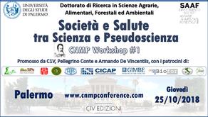 La Scienza a portata di tutti. Dall'Università di Palermo il via al primo CNMP Workshop.