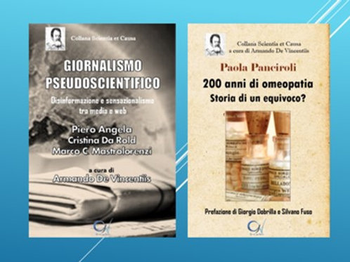 Giornalismo Pseudoscientifico + 200 anni di Omeopatia