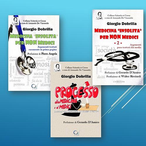 Medicina insolita vol.1+ vol. 2 + Processo alla Medicina