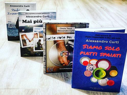 I 4 libri di Alessandro Curti