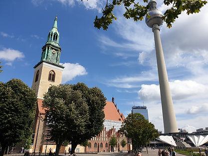 Описание пешеходной экскурсии по Берлину