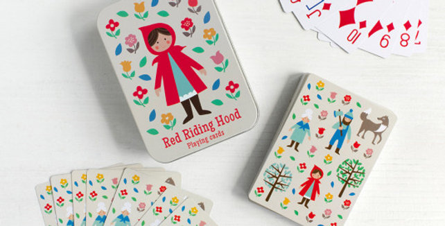 RED RIDING HOOD PLAYING CARDS