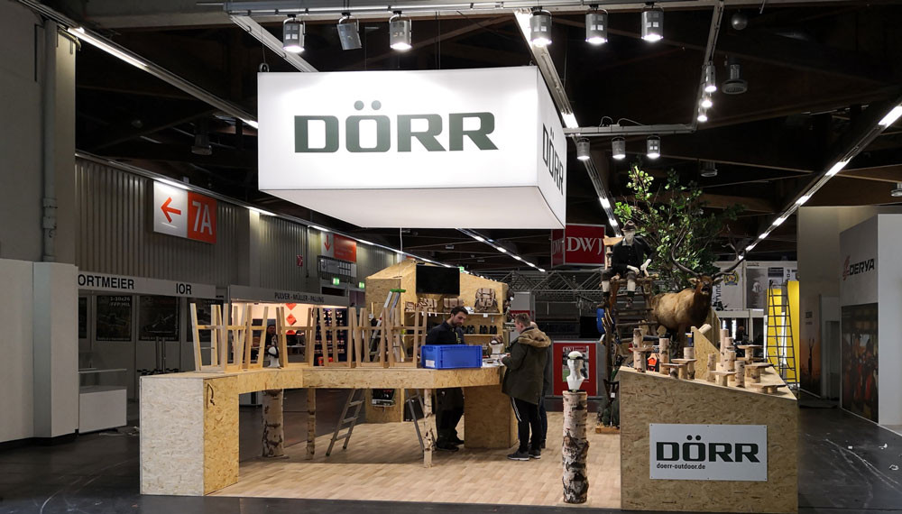 Doerr-messestand