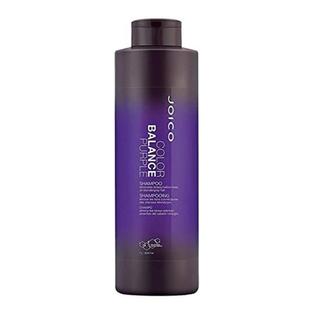 Joico Color Balance Purple Shampoo (eliminates Brassy/Yellow Tones On Blonde/Gray Hair), 33.8 ounces