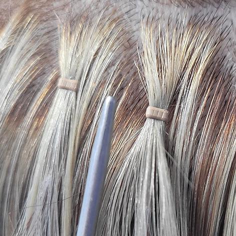nano ring russian hair extensions