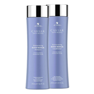 Alterna Caviar Repair Rx Instant Recovery Shampoo and Conditioner Set, 8.5-Ounce