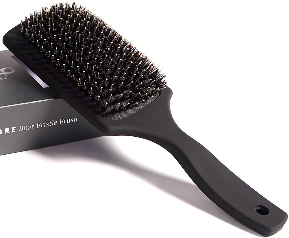 BOAR BRISTLE BRUSH FOR EXTENSIONS