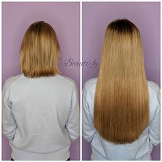 fusion hair extensions on short hair, fusion hair extensions on very short hair