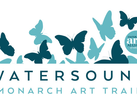 Opening of Watersound® Monarch Art Trail To Lift Flutterby Arts Festival Weekend Off The Ground