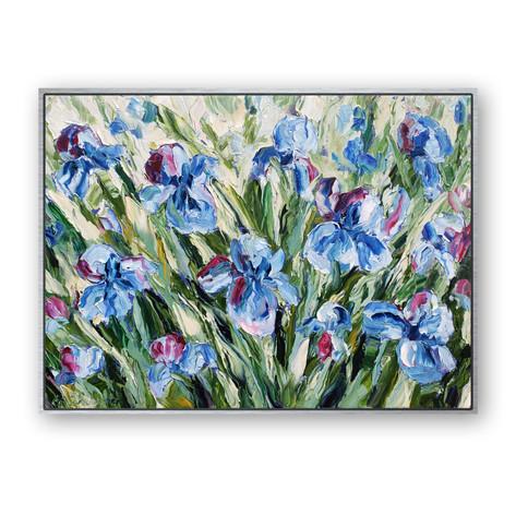 Sea Iris   Oil   18 x 24