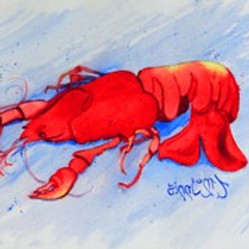 Explorations in the Nature of Watercolor - Crawfish