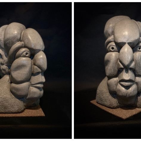 "JUDGE | Indiana Limestone | 19""H x 13""W x 15""D"