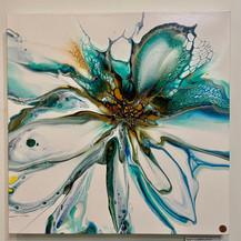 Sea Bloom I | Acrylic | 20 x 20