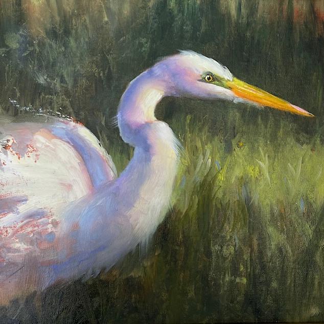 Sculpt and Paint Luminous Birds