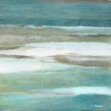The Gulf | Acrylic Mixed Media | 24 x 24