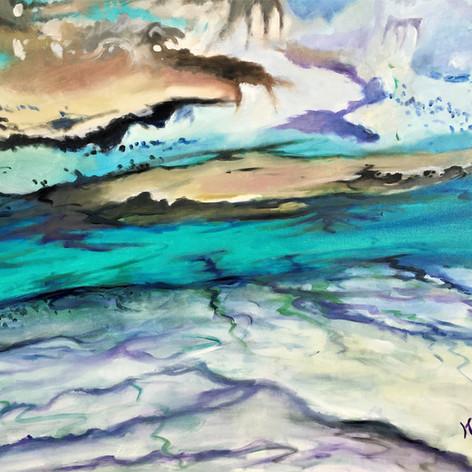 Easy Waters | Oil | 36 x 48