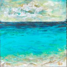 Engulfed In Paradise   Acrylic   20 x 20