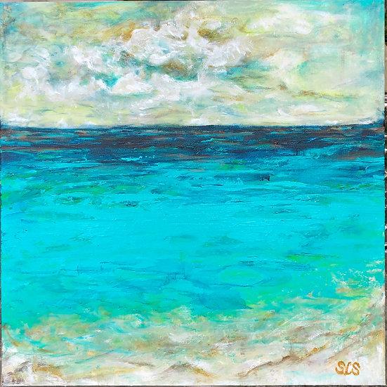 Engulfed In Paradise | Acrylic | 20 x 20