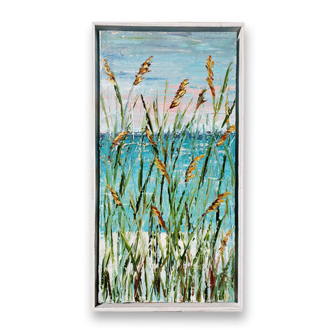 Beach Grass | Oil | 24 x 12