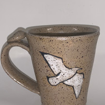 "Seagull Mug   Ceramics   4"""