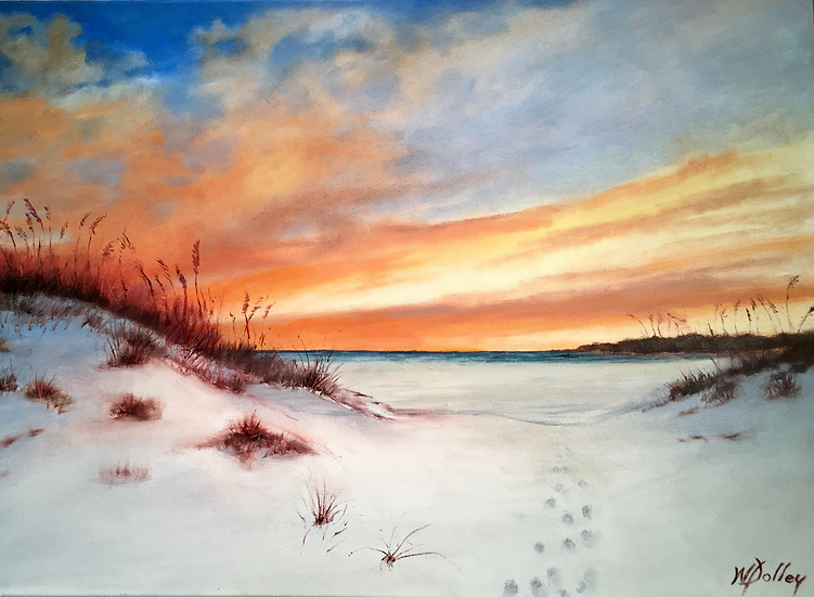 A Tranquil Sky | Oil | 24 x 36