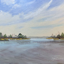 Tucker Bayou   Oil   11 x 14