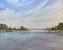 Tucker Bayou | Oil | 11 x 14