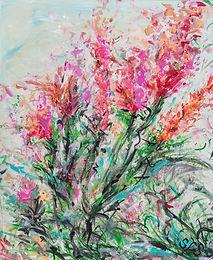 Blooming   Acrylic   20 x 24