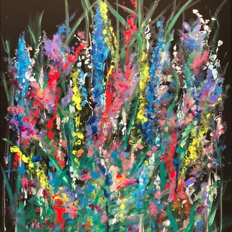Picking Flowers | Acrylic | 18 x 24
