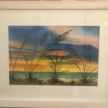 A Sunset Palette | Watercolor | 20 x 26