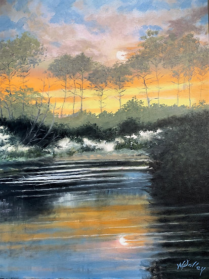 Afternoon Sun | Oil | 30 x 24