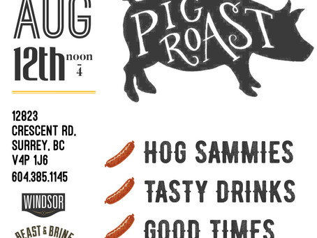 Don't Miss Our Grand Opening Pig Roast!