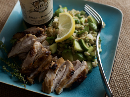 Recipe: Kombucha Marinated Chicken Thighs