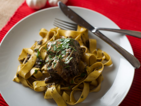 Recipe: Tiberino Pappardelle with Braised Beef Short Ribs
