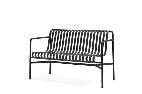PALISSADE DINING BENCH_ANTHRACITE