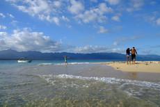 Trips to the sandbank for picnics!!!