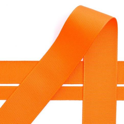 Enso Orange Grosgrain Ribbon