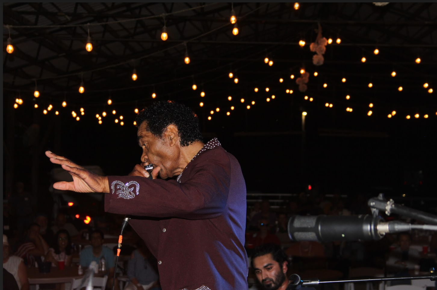 Bobby Rush  Performing at Foxfire Ranch, Photo by Hollie Janelle
