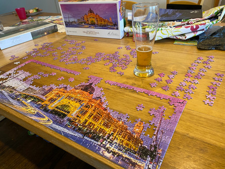 40/52: As Melbourne rebuilds, I discovered the joy of jigsaw puzzles