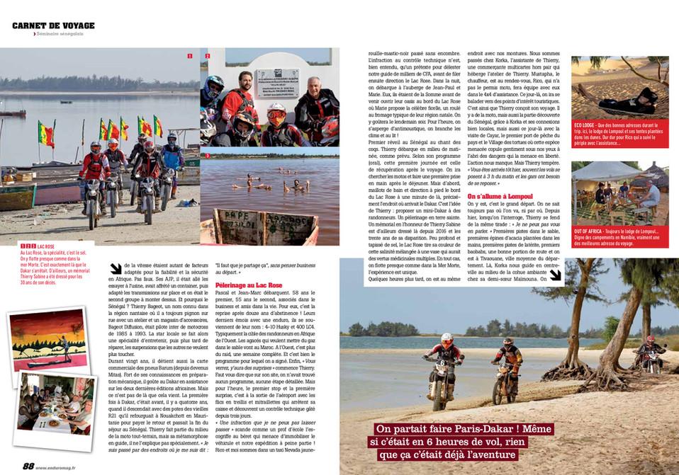 Rando Senegal à moto