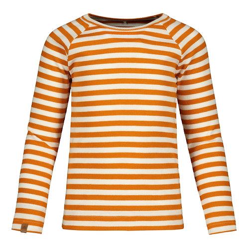 Stripped T-Shirt RIB, tiger-white