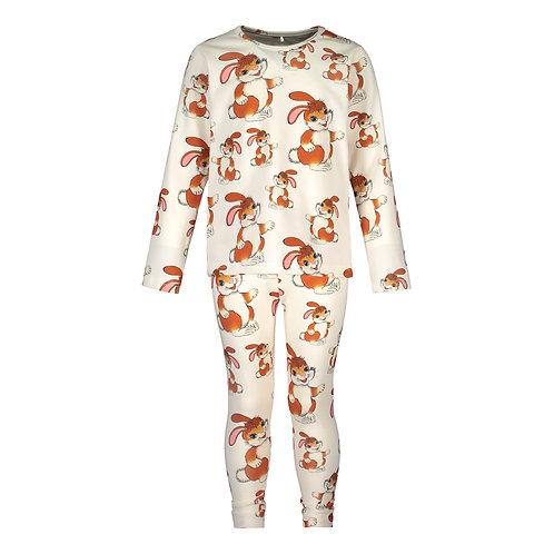 Pupu Tupuna Pyjama Set, white
