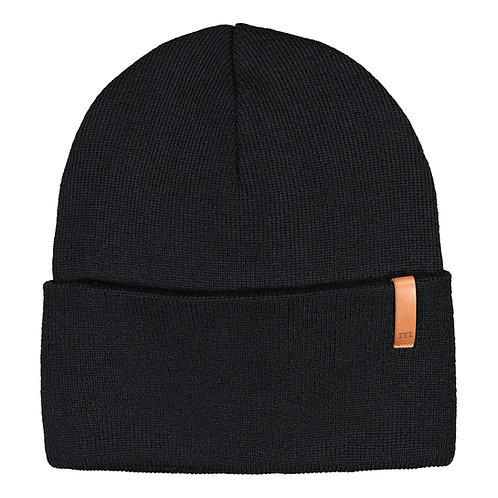 Folded Beanie, black
